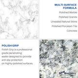 Polish Grip – Polished Marble & Granite Anti-Slip Penetrating Sealer