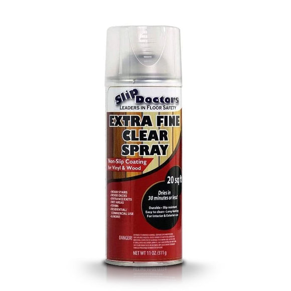 Extra Fine Clear Anti-Slip Spray for Wood