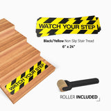 Non-Slip Caution Step Treads – Watch Your Step!