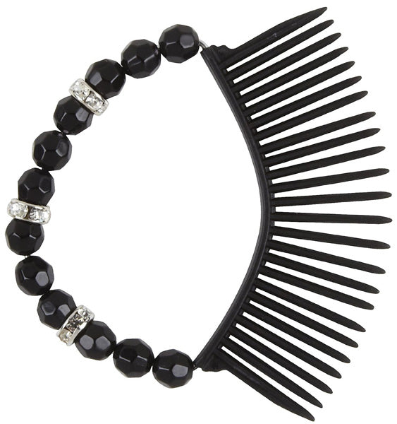 Scunci Bendini Oval Beaded Snap Comb - 1 Comb