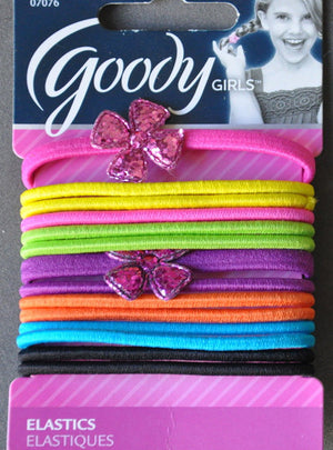 Goody Ouchless Elastics 4mm with Flower