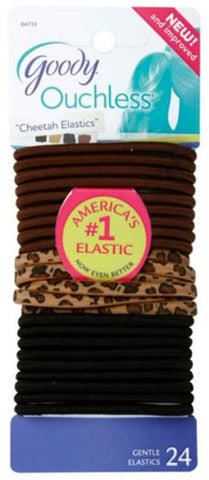 Goody Ouchless Cheetah Elastics 4mm