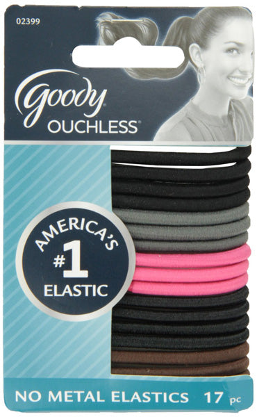 Goody Ouchless Scrunchies Cherry Blossom 4 mm - 17 Count