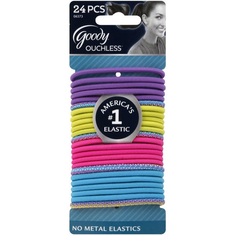 Goody Ouchless Premium Elastics Neon Tribal