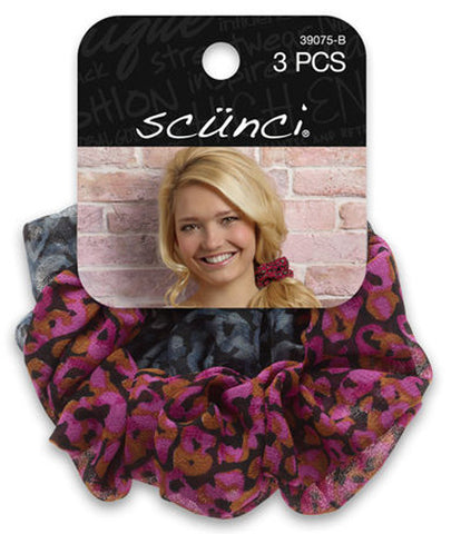 Scunci Sheer Printed Scrunchie