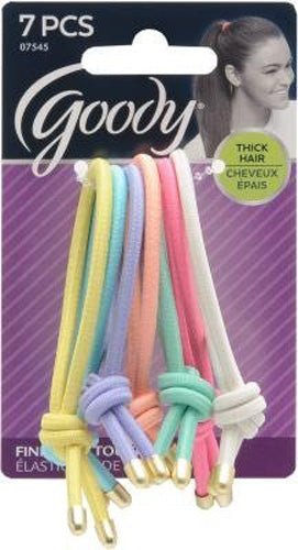 Goody Women's Classics Finishing Touch Elastics Minted Pastels