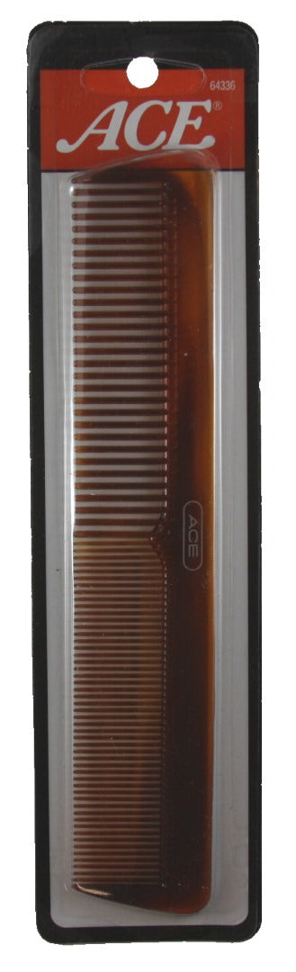 Ace  Dressing Comb Mock Turtle Finish - 1 Comb