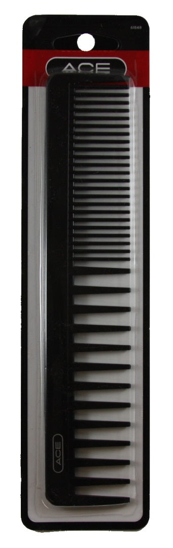 Ace Bi-Function Comb Black - 1 Comb