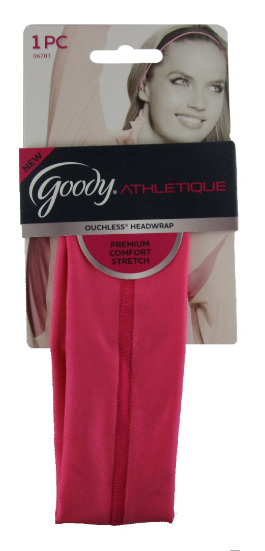 Goody Athletique Premium Comfort Stretch Headwrap - 1 Pack