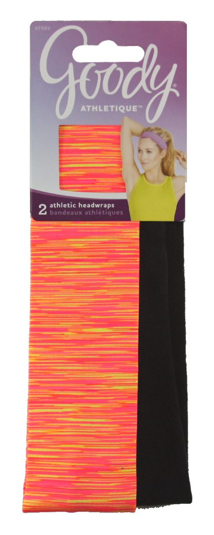 Goody Athletique Premium Stretch Space Dye with Silicone - 8 Pack