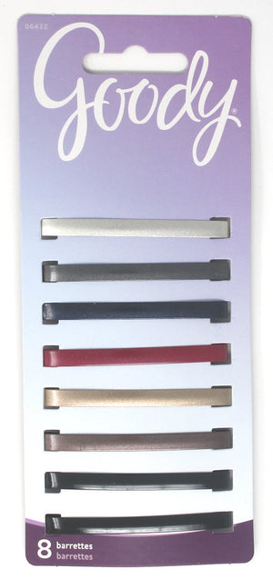 Goody Classic Metallic Gloss Stay Barrettes
