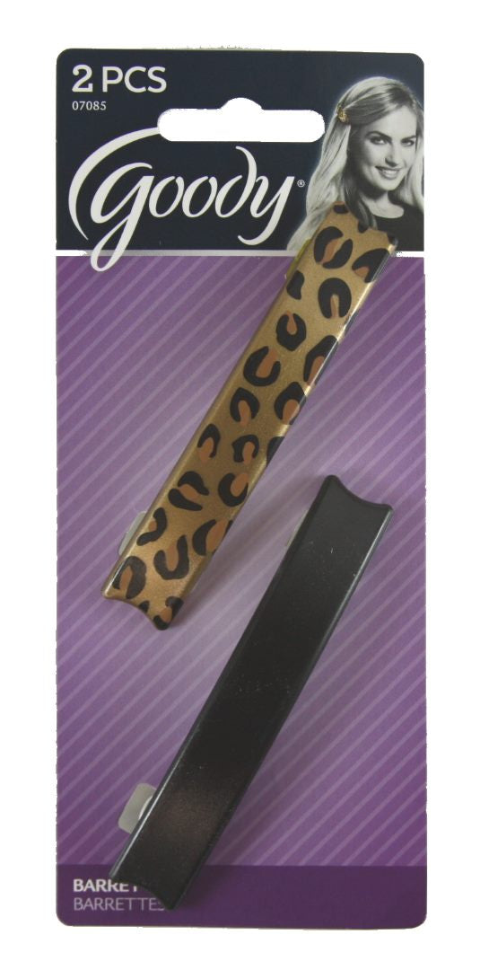 Goody Classics Barrettes Animalprint Autoclaps - 2 Pack