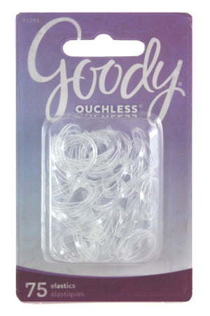 Goody Elastic Mini Polybands Crystal Clear