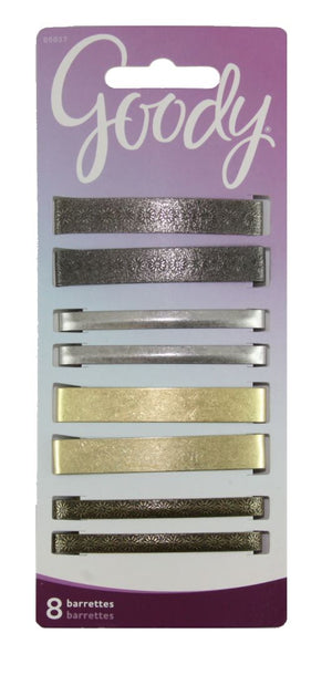 Goody Classics Metal Barettes 2 3/8 Inches