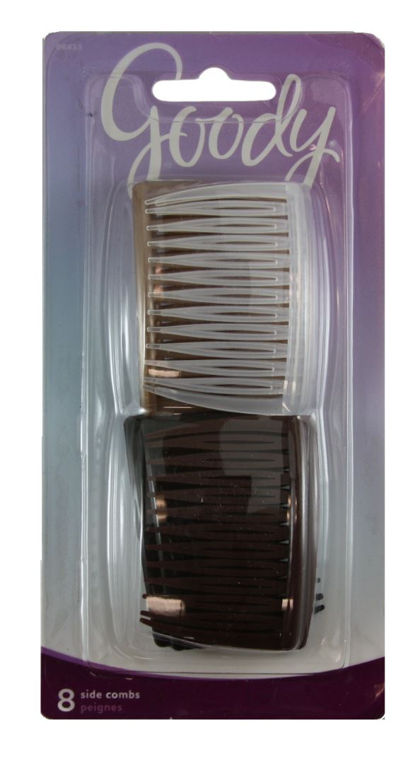Goody Classics Multi Pack Short Side Combs - 8 Count
