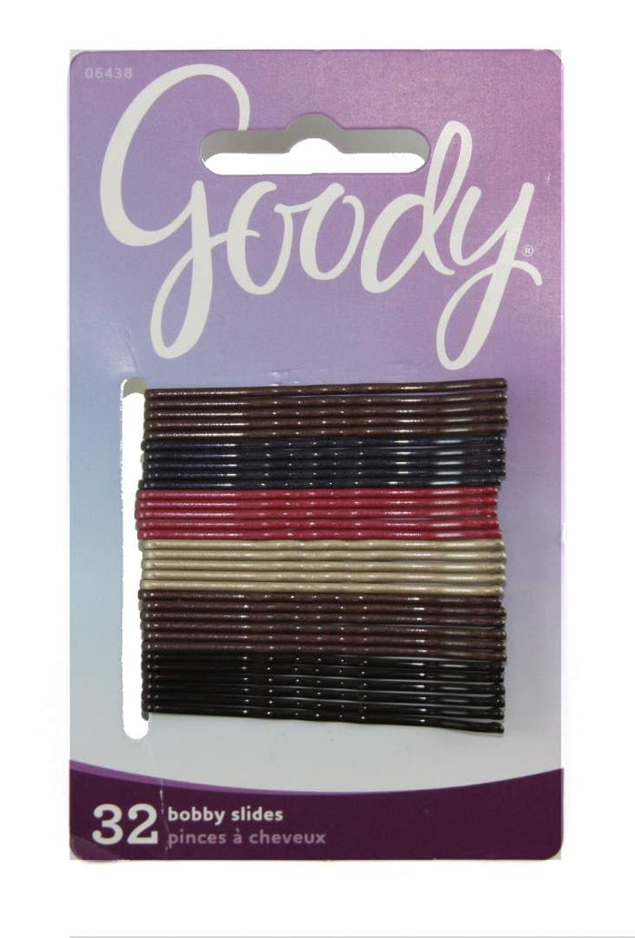 Goody Classics Pearlized Bobby Slides - 32 Count