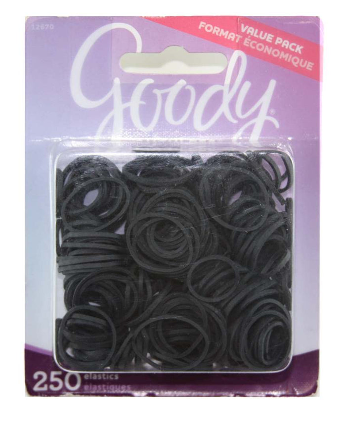 Goody Classics Rubberband Black - 250 Count