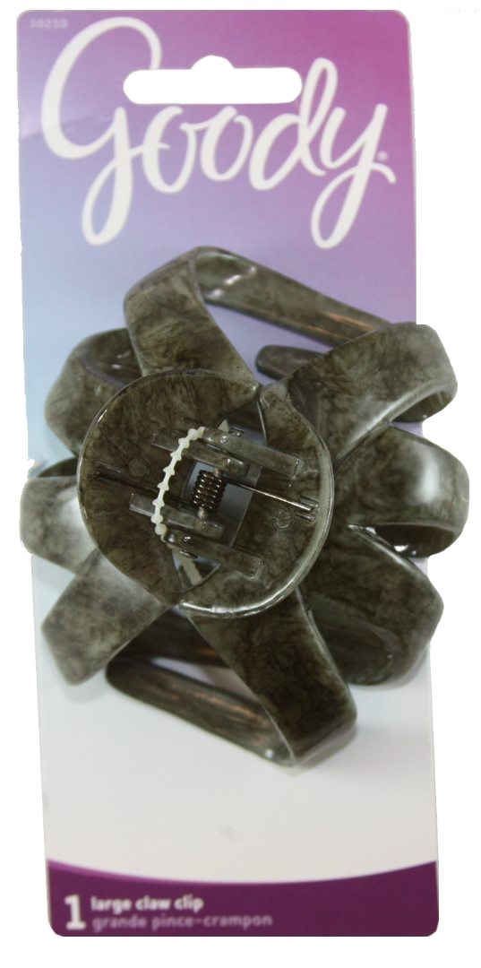 Goody Classics Spider Claw Clip Marble - 1 Count