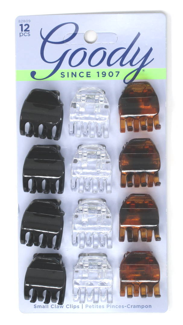 Goody Claw Clip Small Half - 12 Count