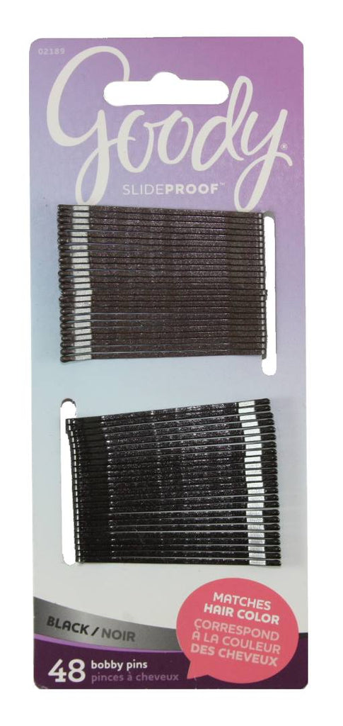 Goody Colour Collection Bobby Pins Black 48 Count