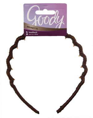 Goody Color Collection Ribbon Wrapped Headband Brunette