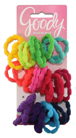 Goody Girls Ribbed Elastics Ponytailers
