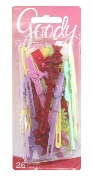 Goody Girls Sassy Barrettes Assorted Colors