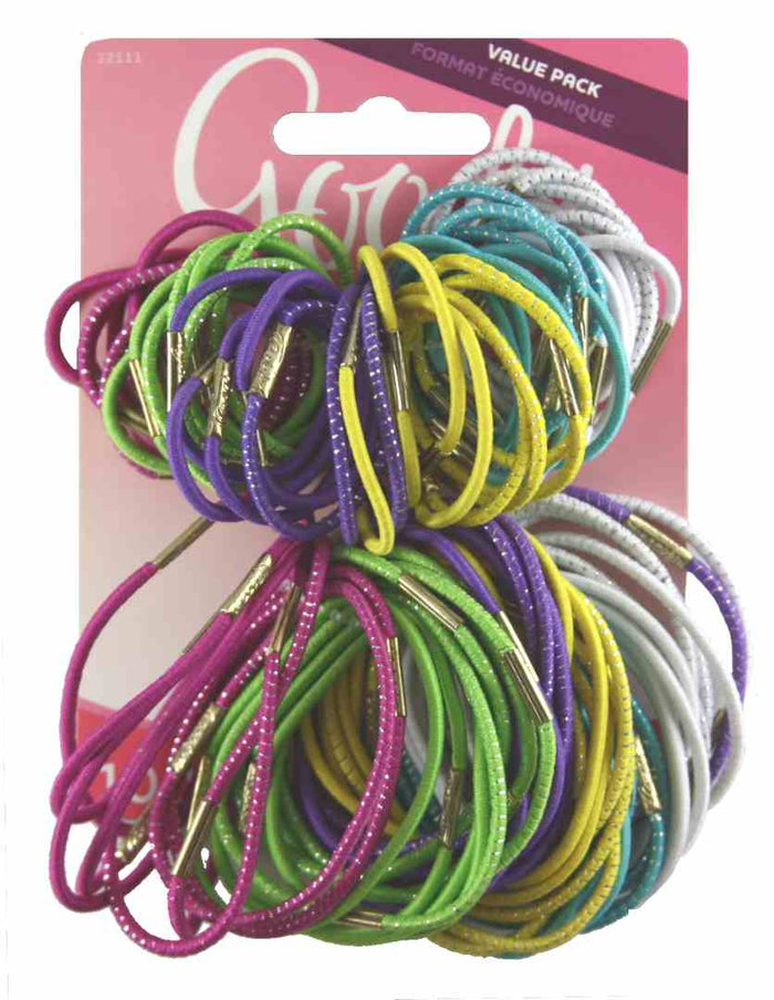 Goody Glam Girls Elastics - 100 Count