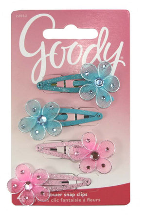 Goody Jeweled Flower Contour Clip