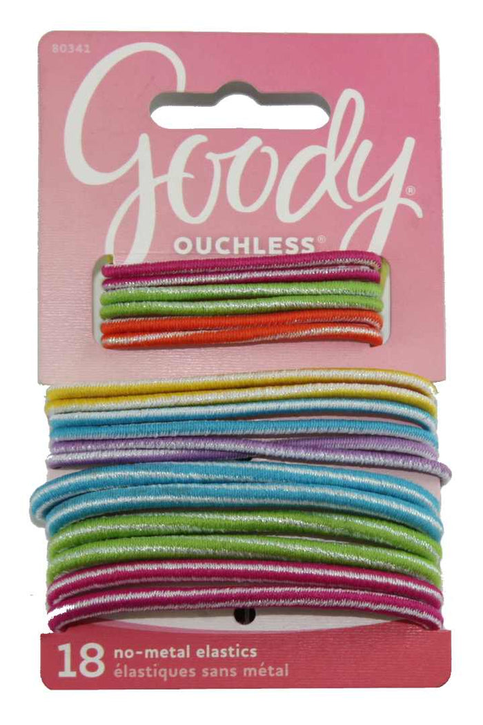 Goody Kids Ouchless Elastics - 18 Pack