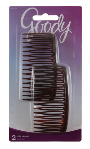 "Goody Mock Tortoise Side 3-1/2"" Combs"
