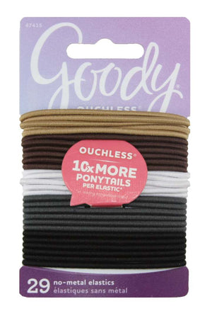 Goody Ouchless Braided Elastics Neutral