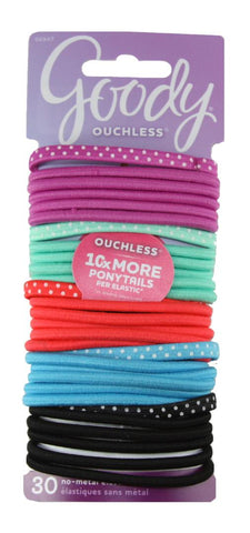 Goody Ouchless No Metal Elastics Bright Dots