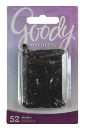 Goody Ouchless No Metal Elastics Storage Pack 4mm Black