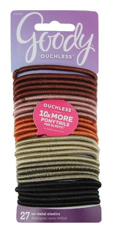 Goody Ouchless No Metal Elastics Thick Assorted Color