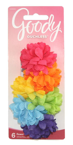 Goody Ouchless Scrunchie Flower Terry
