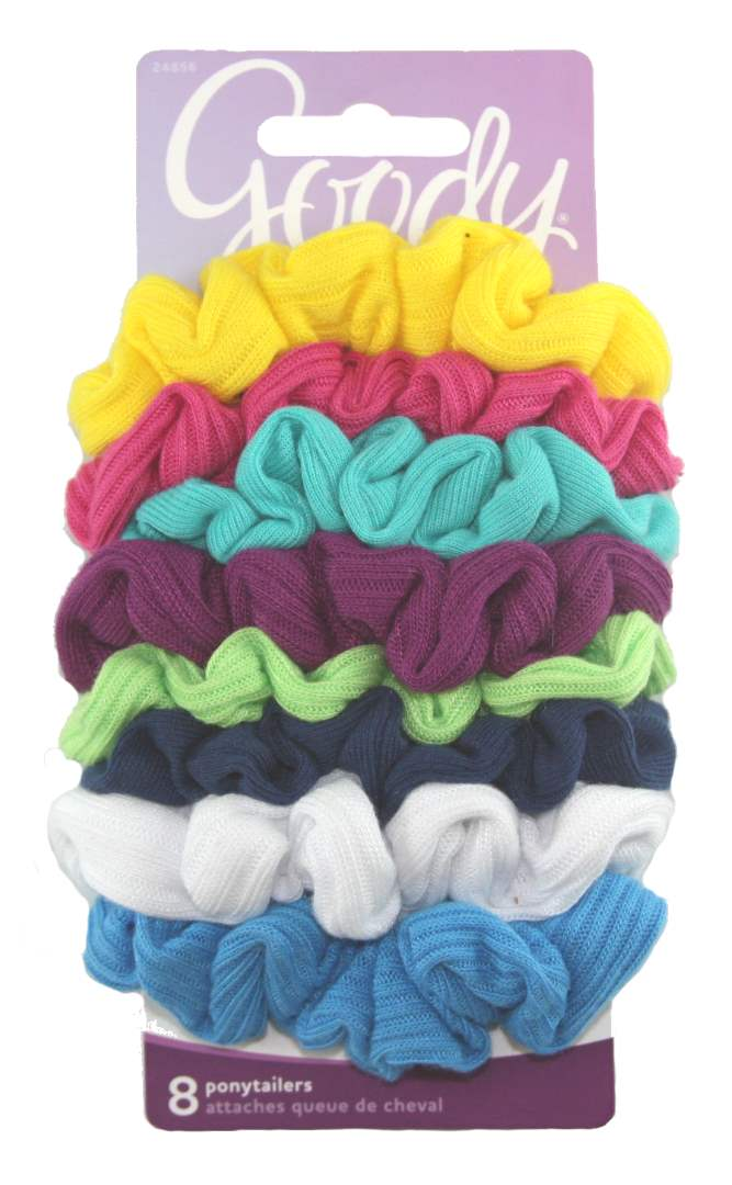 Goody Ouchless Scrunchie Jersey Variety - 8 Count