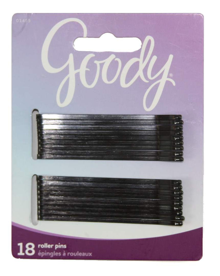 Goody Styling Essentials Bobby Pins Black 3 Inches - 18 Count
