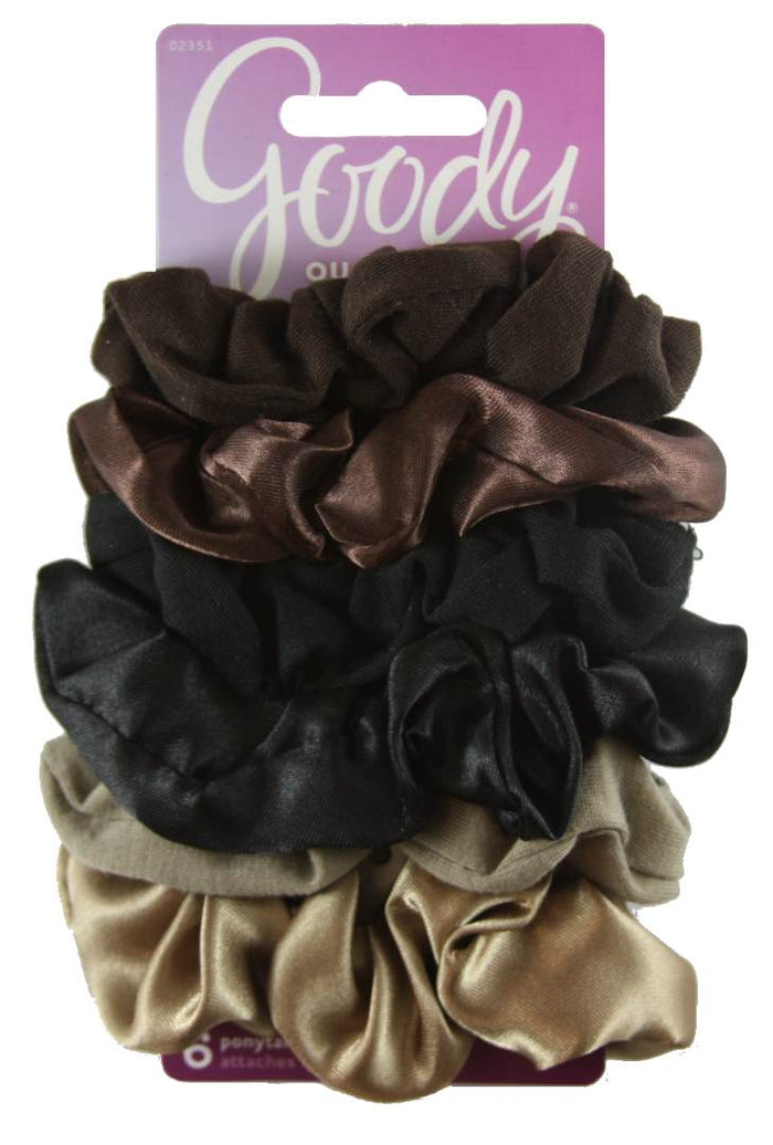 Goody Styling Essentials Ouchless Scrunchies Starry Night - 6 Count