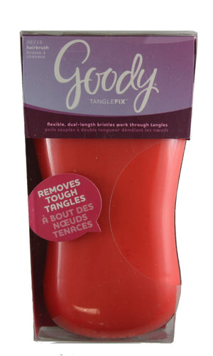 Goody Tangle Fix Detangle Gently Brush Silver
