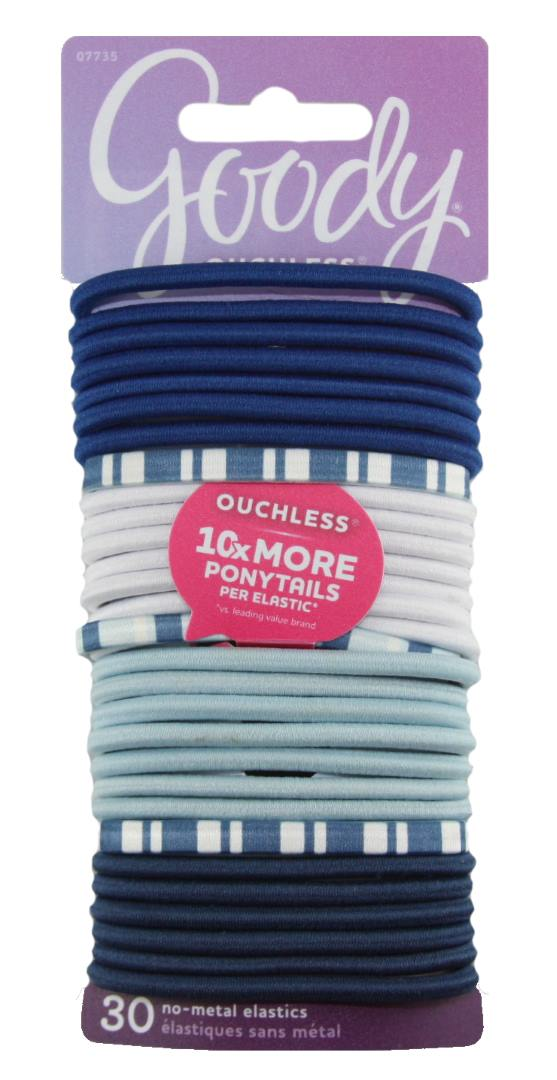 Goody Women's Ouchless Elastics Nautical - 30 Pack