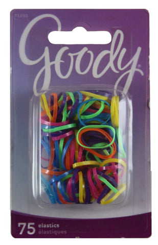 Goody Womens Mini Neon Polyband Elastics Assorted Colors