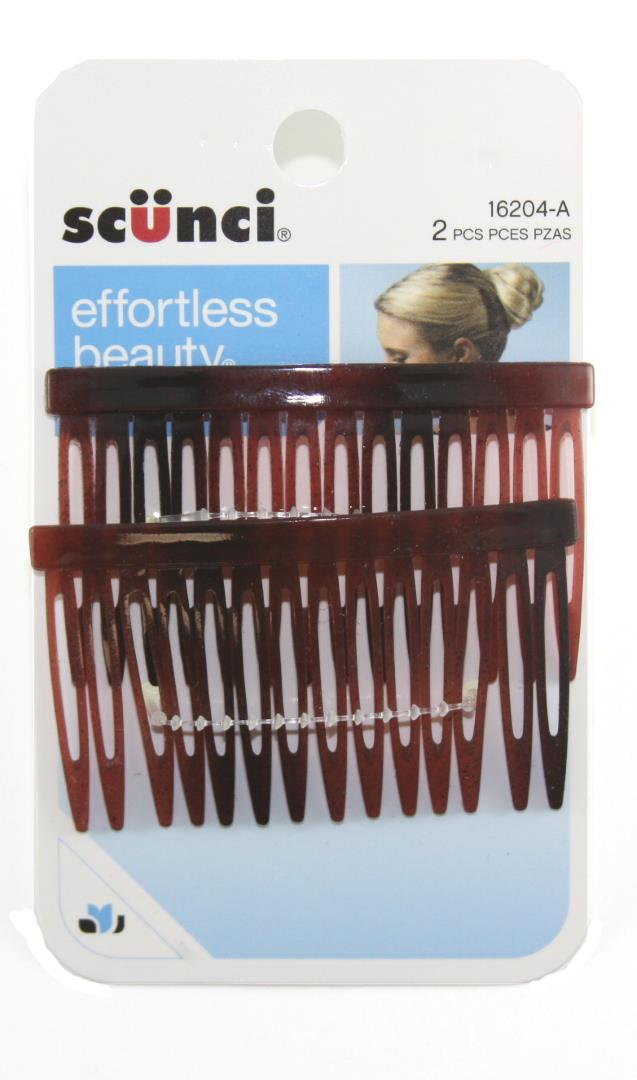 Scunci Effortless Beauty Hair Combs - 2 Combs