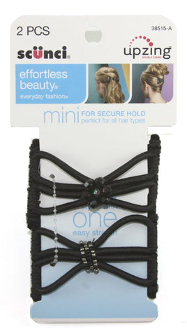 Scunci Effortless Beauty Mini Upzing Double Combs