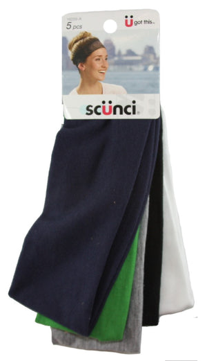 Scunci Wide Stretch Basic Headwraps