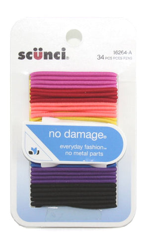 Scunci No Damage Bright Hair Elastics