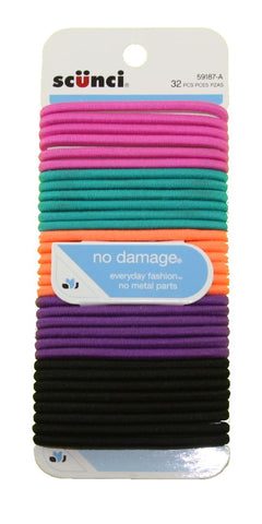 Scunci No Damage Elastics Bright 4 mm