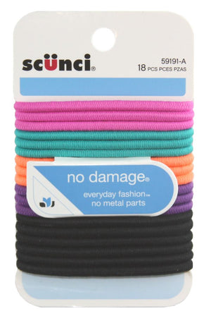 Scunci No Damage Elastics New Bright