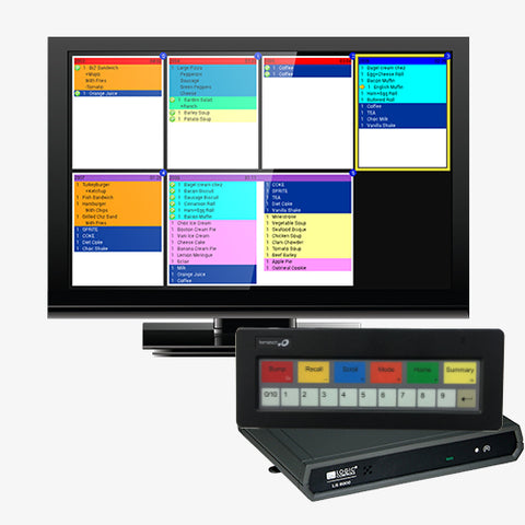 "Bematech Kitchen Display Controller with Bump Bar & 19"" Monitor"