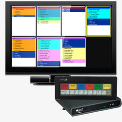 "Bematech Kitchen Display Controller with Bump Bar & 22"" Monitor"